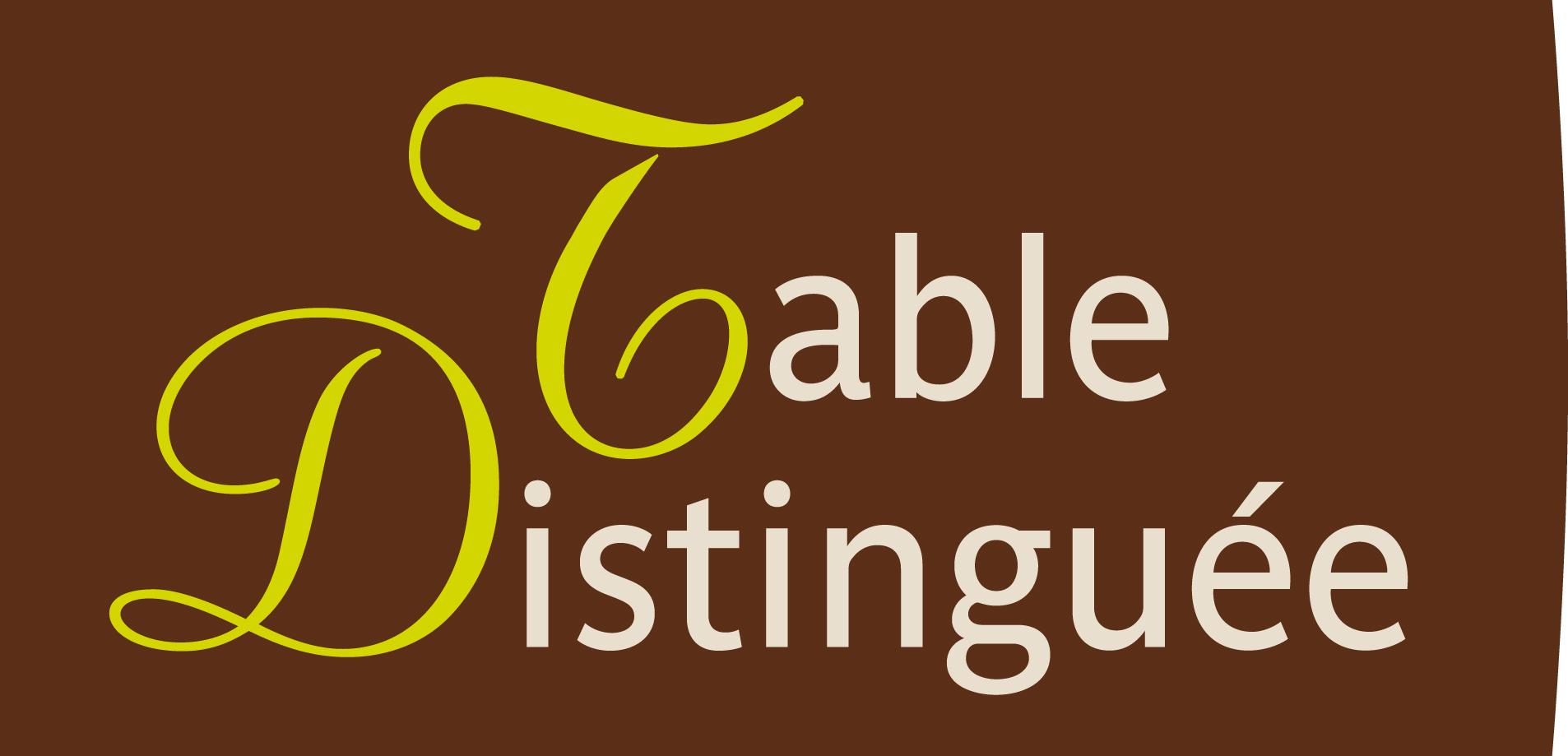table distinguee fond
